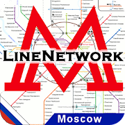 LineNetwork Moscow Metro 2021