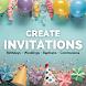 Free Invitation Maker Birthday, Wedding, Communion