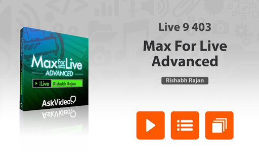 Adv. Course for Max For Live For PC Windows (7, 8, 10, 10X) & Mac Computer Image Number- 5