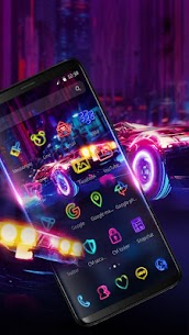 Luxe Neon Supercar 1.1.3 APK Mod Updated 2