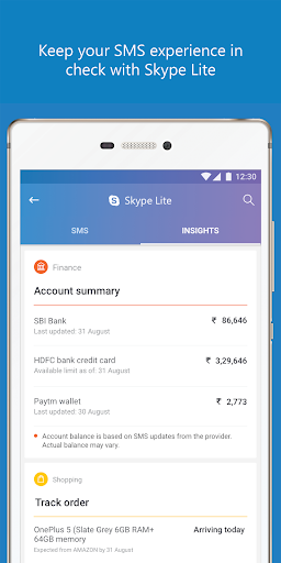 Skype Lite - Free Video Call & Chat 1.84.76.1 Screenshots 4