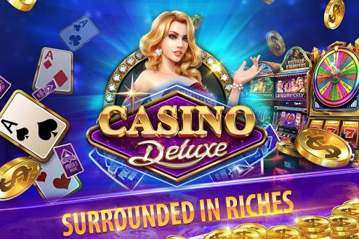 Casino Deluxe Vegas - Slots, Poker & Card Games screenshots 1