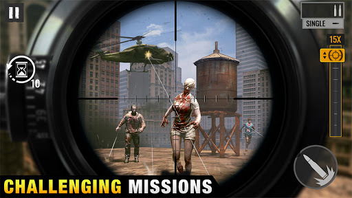 Sniper Zombies: Offline Shooting Games 3D Apk Mod 1