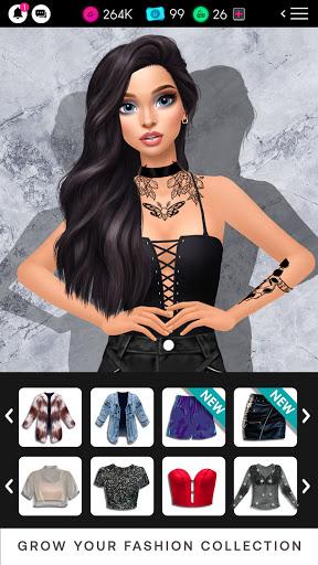 GLAMM'D - Style & Fashion Dress Up Game apktram screenshots 3