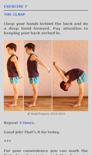 Daily Back Exercises For PC Windows (7, 8, 10, 10X) & Mac Computer Image Number- 9