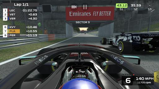 Télécharger F1 Mobile Racing APK MOD  (Astuce) screenshots 1