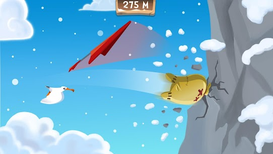 Free Learn 2 Fly: Flying penguin games. Bounce 4