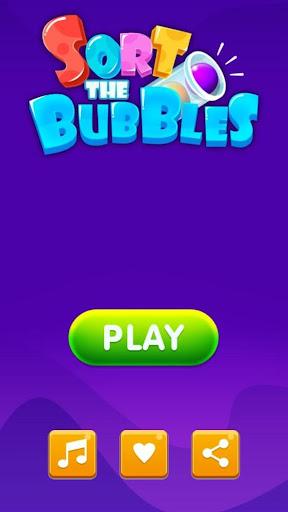 Bubble Sort - Fun IQ Brain Games and Logic puzzles android2mod screenshots 6