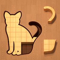 動物などのモチーフの枠内に、ピッタリ収まるよう木製ブロックを当てはめていく、パズルゲーム『BlockPuz』が無料ゲームの注目トレンドに