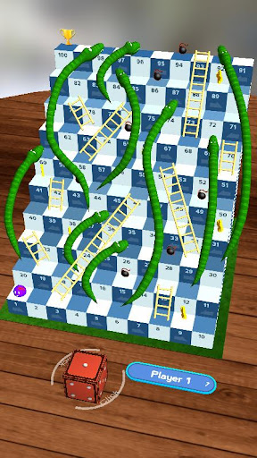 Snakes and Ladders, Slime - 3D Battle screenshots 3