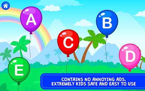 Balloon Pop : Preschool Toddlers Games for kids apkdebit screenshots 7