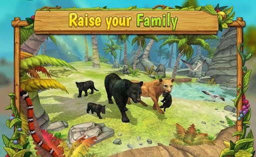 Tu00e9lu00e9charger Gratuit Panther Family Sim Online - Animal Simulator APK MOD (Astuce) screenshots 1
