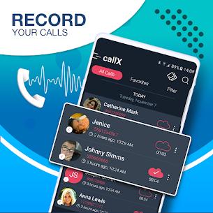 Call Recorder – Automatic Call Recorder – callX 1