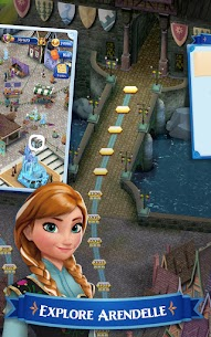 Disney Frozen Free Fall Mod Apk (Unlimited Snowball/Move) 4
