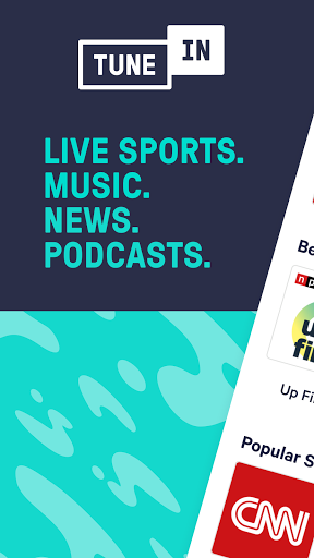 TuneIn Pro: Live Sports, News, Music & Podcasts screen 0