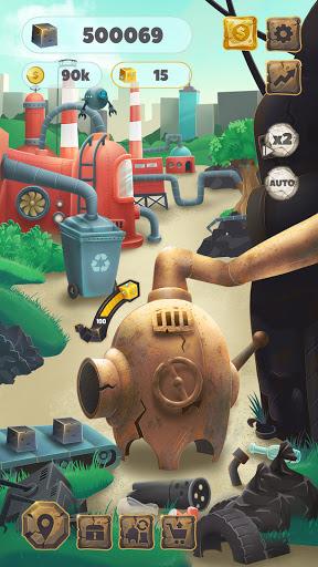 Trash Tycoon: idle clicker & simulator & business screenshots 1