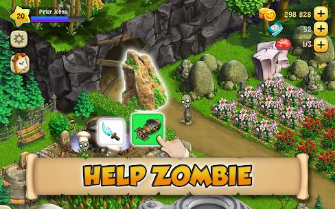 Zombie Castaways MOD APK 4.32.1 (Unlimited Money) 1