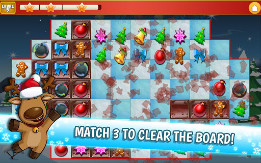 Christmas Crush Holiday Swapper Candy Match 3 Game 1.66 screenshots 10