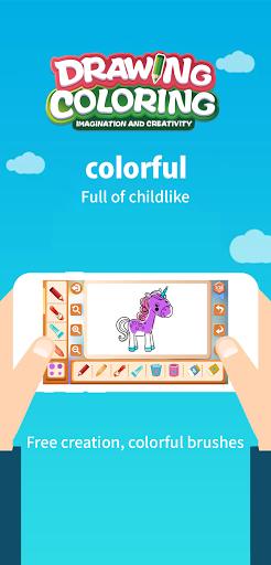 Drawing Coloring:Imagination And Creativity android2mod screenshots 7