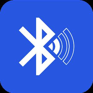 Bluetooth audio device widget: connect, play music