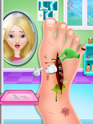Nail & Foot doctor - Knee replacement surgery android2mod screenshots 3
