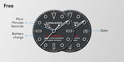 Rawmariner Watch Face