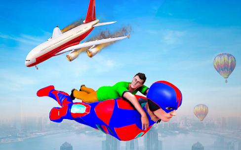 Firefighter Superhero Robot Rescue Mission APK + MOD Download 3