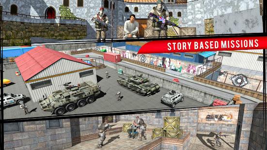 Real Terrorist Shooting Games: Gun Shoot War 1.15 Screenshots 8