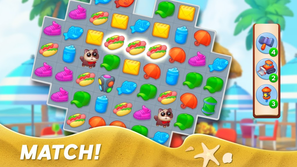 Match Town Makeover・Town Renovation Match 3 Puzzle poster 8