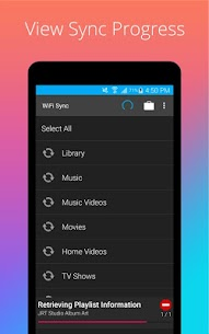 iSyncr: iTunes to Android 4
