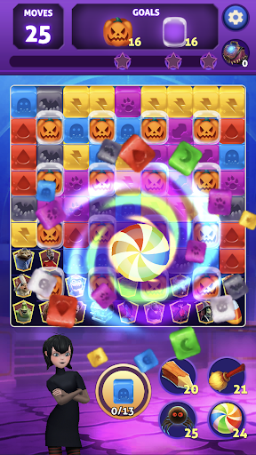 Hotel Transylvania Puzzle Blast - Matching Games android2mod screenshots 5