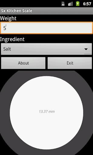 Kitchen Scale 2.1 Screenshots 1