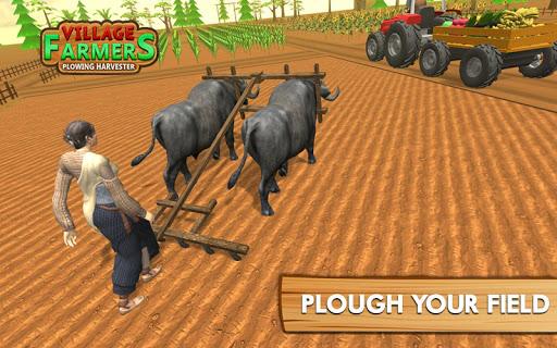 Village Plow bull Farming  screenshots 11