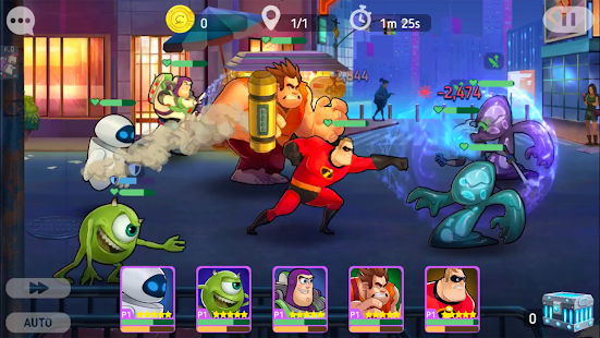 Disney Heroes: Battle Mode Screenshot