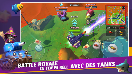 PvPets: Tank Battle Royale APK MOD – Monnaie Illimitées (Astuce) screenshots hack proof 1