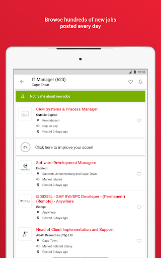Pnet - Job Search App in South Africa modavailable screenshots 9