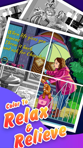 Jigsaw Coloring: Number Coloring Art Puzzle Game modavailable screenshots 12