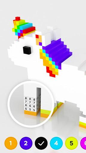 Number Coloring u2013 3D No.Draw screenshots 2