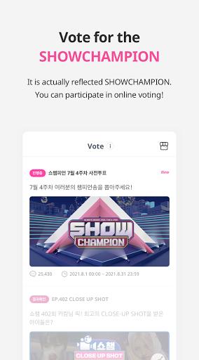 IDOLCHAMP - Showchampion, Fandom, K-pop, Idol android2mod screenshots 7