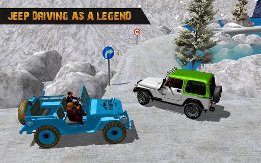 Offroad Jeep Driving Simulator : Real Jeep Games Apkfinish screenshots 15