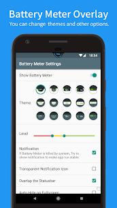Battery Meter Overlay (PRO) 4.1.0 Apk 2