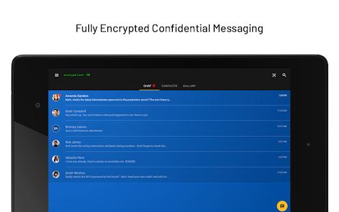 KeeperChat Encrypted Messenger
