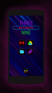 Neon Glow – Icon Pack 8.7.0 APK + MOD Download 2