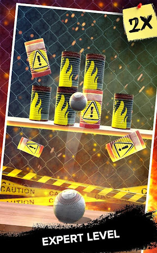 Knock Down Cans : hit cans  screenshots 2