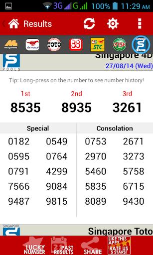 Live 4D Results ! (MY & SG) 89 Screenshots 3