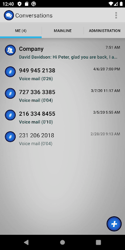 onrelay office phone screenshot 2