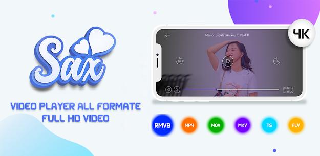 SAX Video Player – Mod Apk Download 5