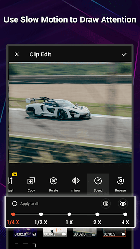 VideoShow Pro - Video Editor, music, no watermark screen 2