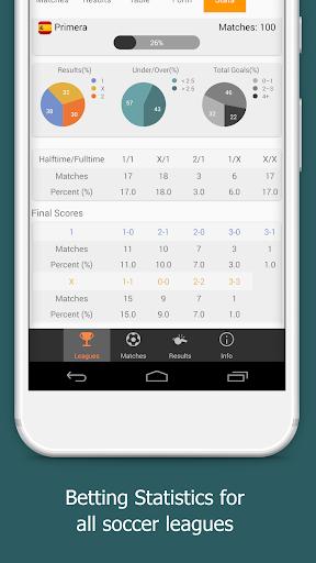 Bet Data - VIP Betting Tips, Stats, Live Scores 4.1.1 Screenshots 7