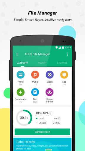 Foto do APUS File Manager (Explorer)